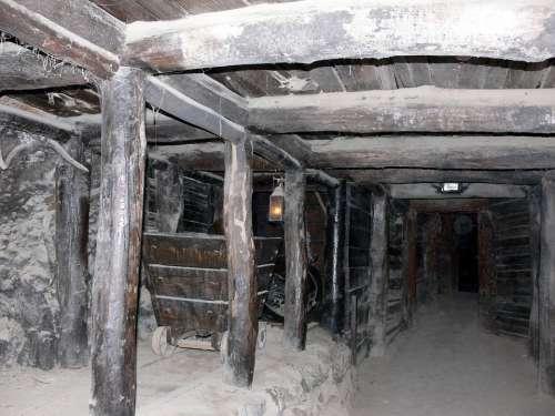 Mine Mine Shaft Tunnel Underground Gold Mine Deep
