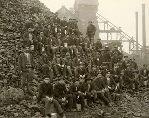 Miners Workers Bergmann Squires Mine Tamarack Mine