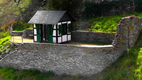 Mini Castle Castle Wall Fortress Architecture