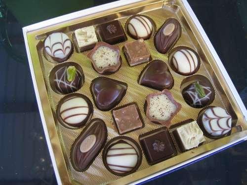 Mini-Chocolates Chocolate Ash Colors Candy Gift