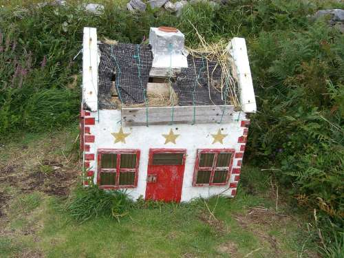 Miniature House Model Small Mini