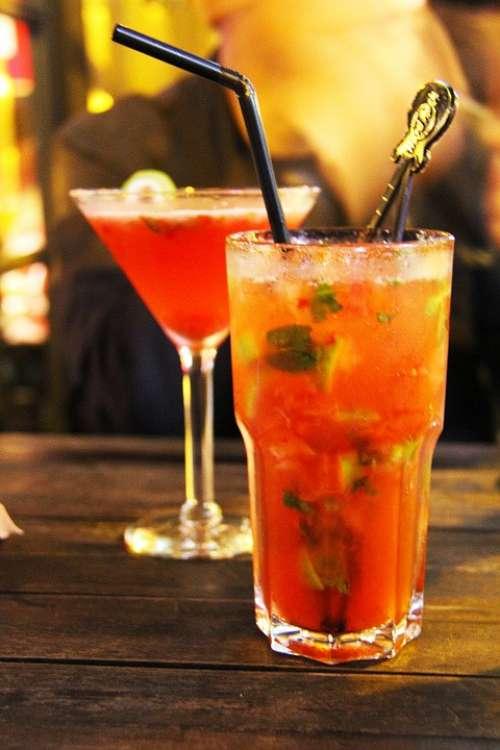 Mint Daiquiri Martini Hard Rock Cafe Fruit Juice