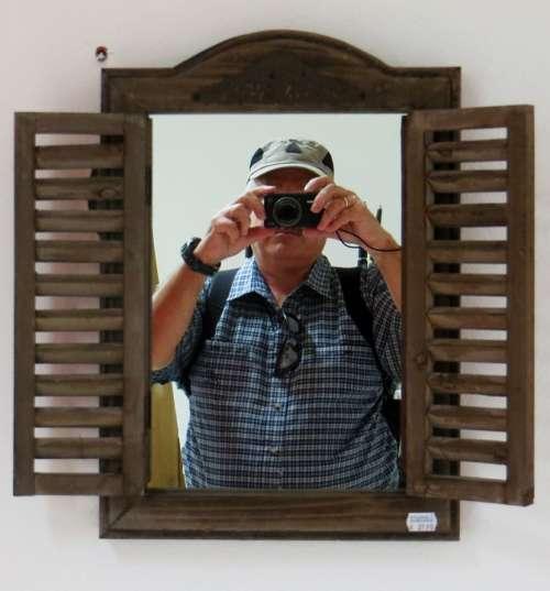 Mirror Self Portrait Camera Person Photography