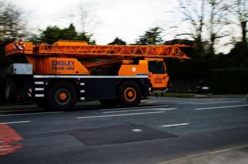 Mobile Crane Auto Construction Job Business