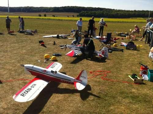 Model Airplane Modelling Hobby Uengershausen