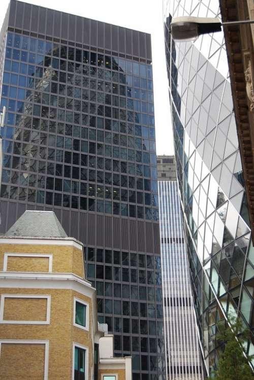 Modern Architecture Glass Skyscraper Tower