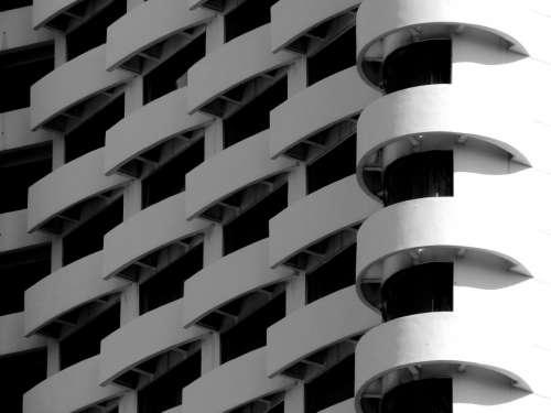Modern Art Building Architecture Kuala Lumpur