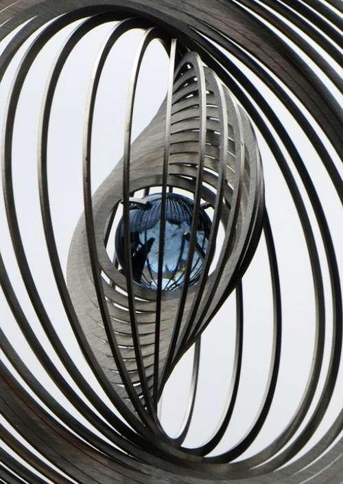 Modern Art Decoration Windspiel Cover Jewelery Ball