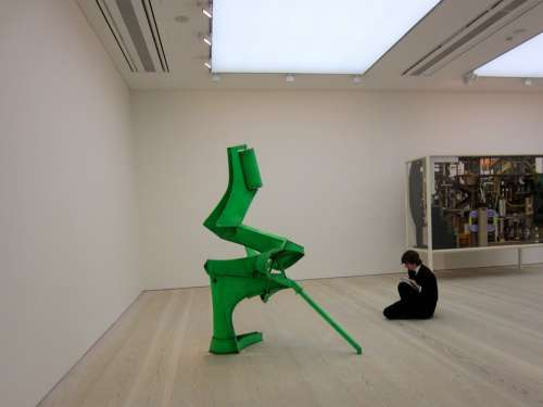 Modern Art Gallery London Student Sketching