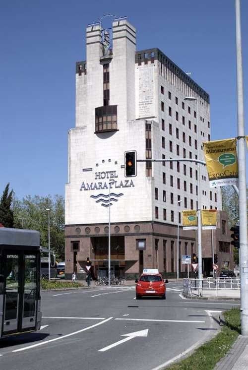 Modern Building San Sebastian Architecture