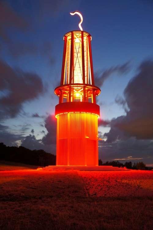 Moers Niederrhein Industry Industrial Heritage Red