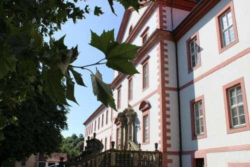 Monastery Resin Building Tree Historically