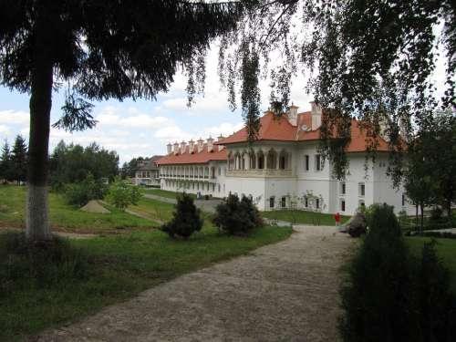 Monastery Orthodox Church Traditional Europe