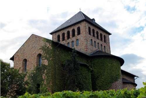 Monastery Church Church Basilica Johannisberg