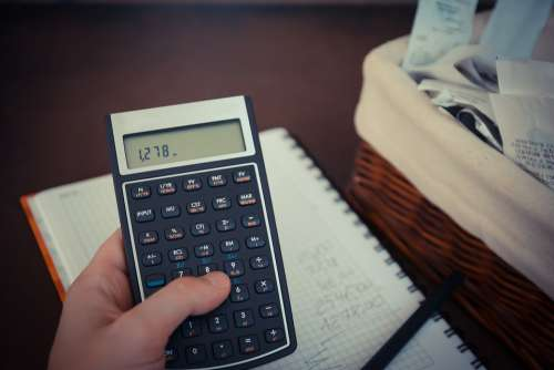 Money Bills Calculator Save Savings Taxes