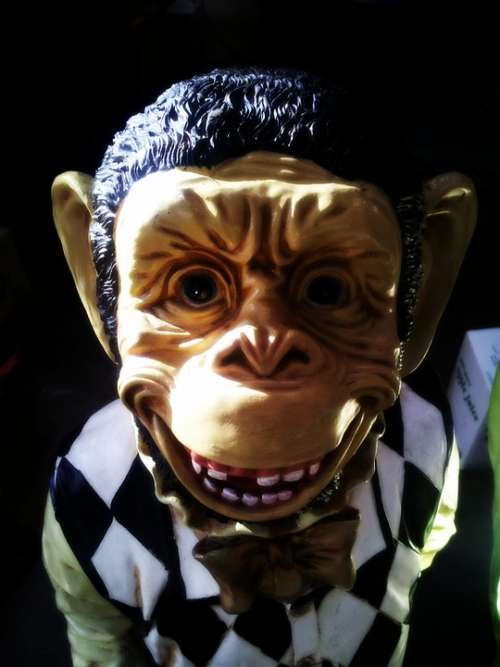 Monkey Mask Creepy Ape