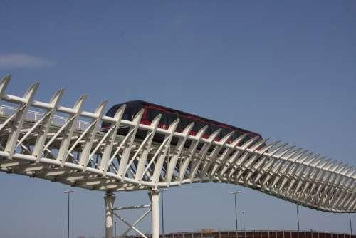 Monorail Magnetic Levitation Italy Venezia