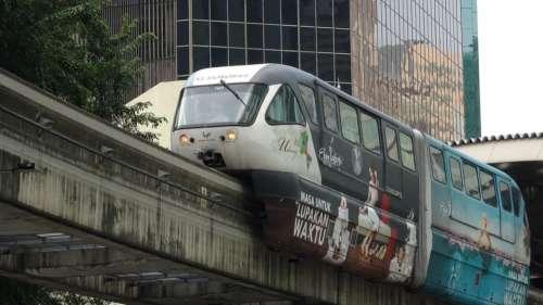 Monorail Train Malaysia Transport