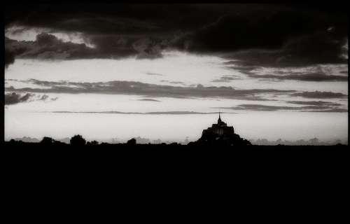 Mont Saint Michel France Mont St Michel Monastery