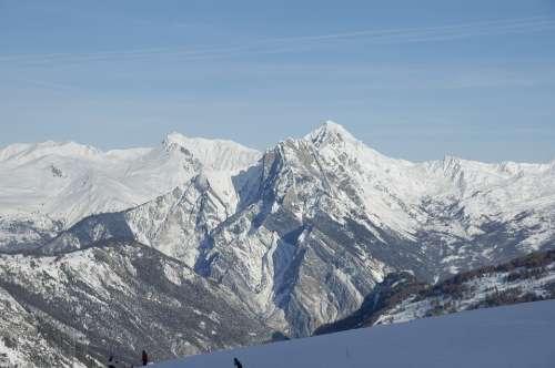Mont Blanc Chamonix Mountain Mountaineering