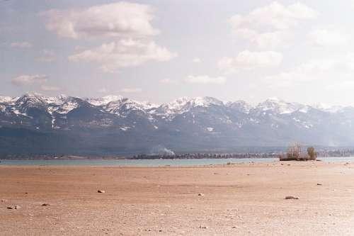 Montana Flathead Lake Flathead Mountains Lake