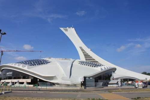 Montreal Olympic Stadium Stadium Architecture