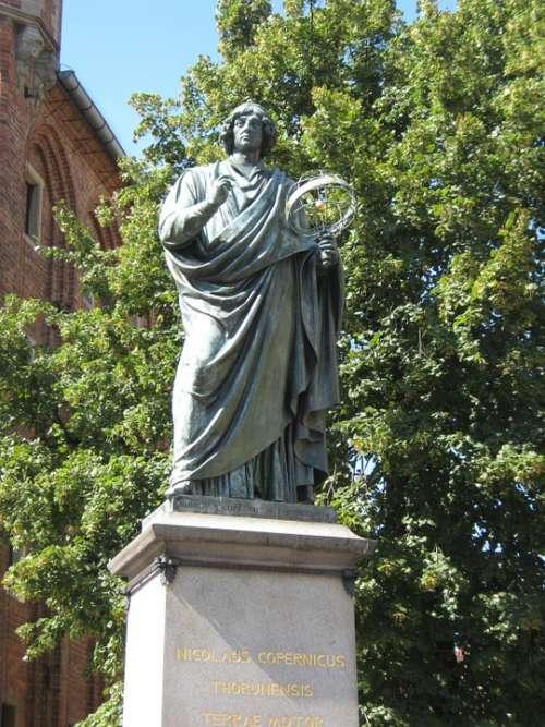 Monument Copernicus Toruń Poland