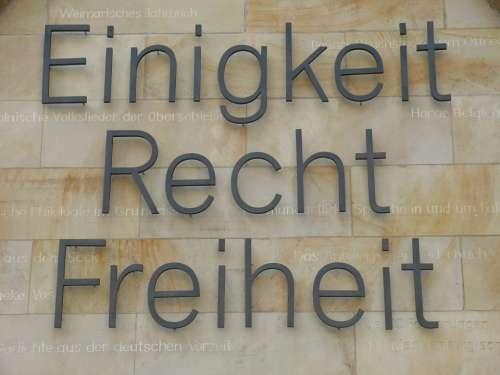 Monument Lettering Hanover Lower Saxony