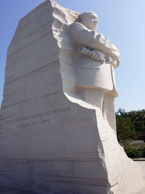 Monument Martin Luther King Memorial Dc Washington