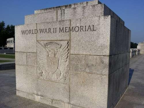 Monument World War Ii Memorial Dc Washington Park