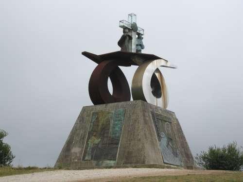 Monument To John Paul Ii Santiago Of Compostela
