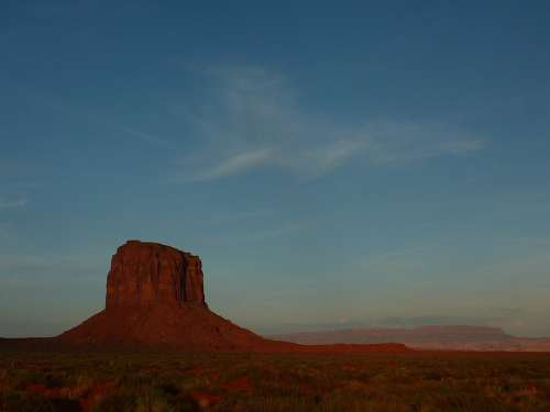 Monument Valley Sunrise Kayenta Arizona Usa