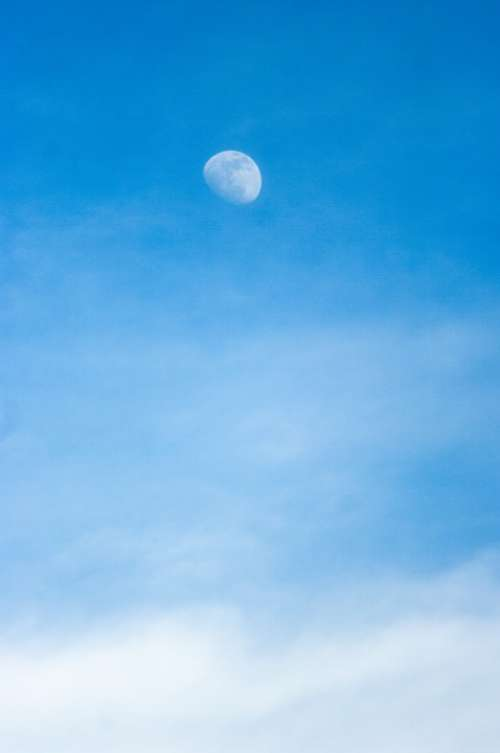 Moon Sky Moonlight Nice Cloud Cloudy Sky Mood