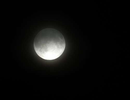 Moon Sky Celestial Planet Night Dark Light