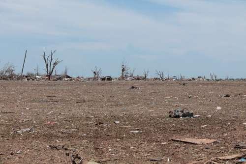 Moore Oklahoma Tornado Disaster Ruin