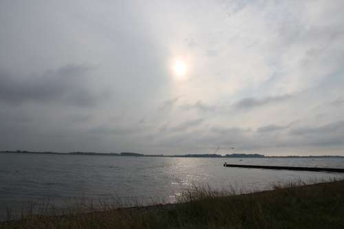More Sunset Water Landscape Clouds Sun Heaven