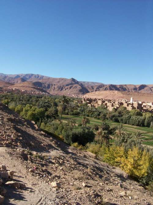 Morocco Rocks High Atlas High Mountain Todra Gorge
