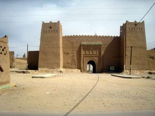 Morocco Fortress City Wall City