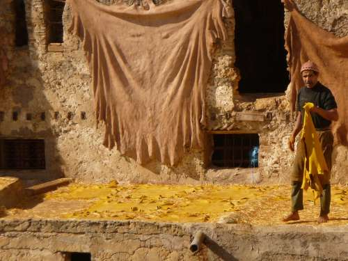 Morocco Skins The Tannery Artisans