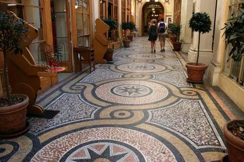 Mosaic Galerie Vivienne Paris
