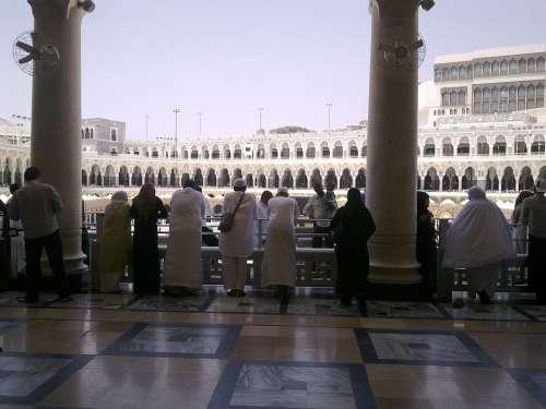 Mosque Islamic Saudi Arabia Makkah Muslim Masjid