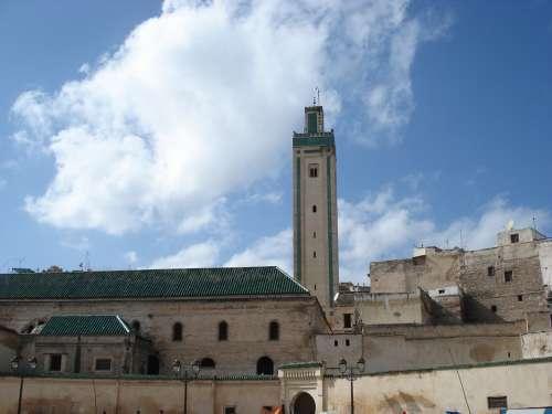 Mosque Islamic Morocco Architecture Islam