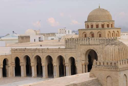 Mosque Muslim Tunis Africa Architecture Building