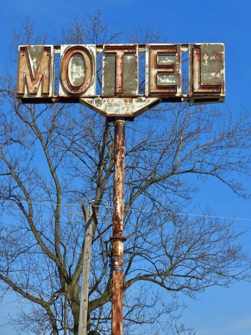 Motel Hotel Sleep Pennsylvania Road Trip Travel