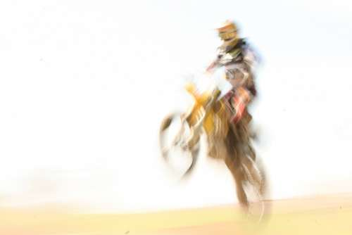 Motocross Motorcycle Jump Speed Race Extremely