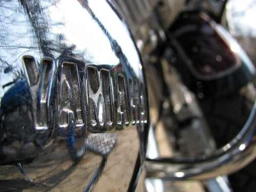 Motorbike Yamaha Bike Vehicle Close-Up Chrome