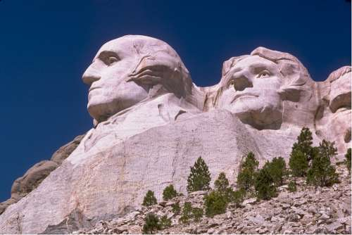Mount Rushmore George Washington Thomas Jefferson