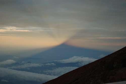 Mountain Fuji Japan Mt Fuji Japanese Twightlight