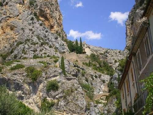 Mountain Trail Hiking France
