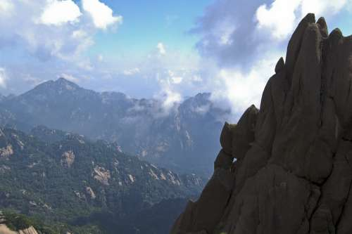 Mountain Nature Rock Huangshan